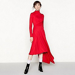 Studio by Preen - Red ruched dress