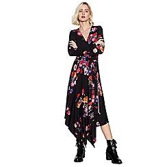 Studio by Preen - Multicoloured Floral Midi Wrap Dress