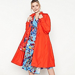 Studio by Preen - Bright Red Drawstring Trench Coat
