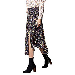 Studio by Preen - Navy floral print skirt