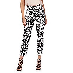 Star by Julien Macdonald - Multi-coloured animal print cropped trousers