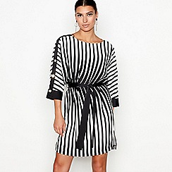 Star by Julien Macdonald - Black striped tunic dress