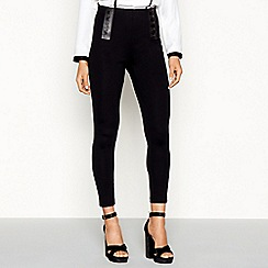 Star by Julien Macdonald - Black treggings