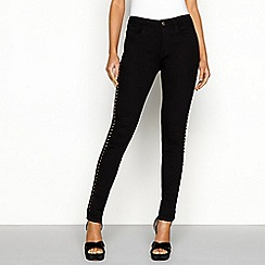 Star by Julien Macdonald - Black studded jeans