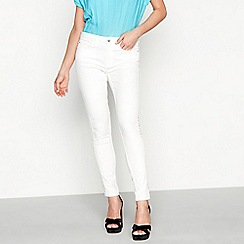 Star by Julien Macdonald - White studded jeans