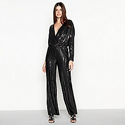 Star by Julien Macdonald - Black sparkle jumpsuit