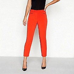 Star by Julien Macdonald - Dark orange stud regular fit suit trousers