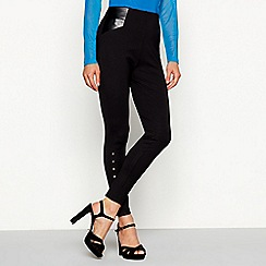 Star by Julien Macdonald - Black studded slim fit stretch leggings
