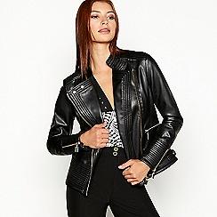 Star by Julien Macdonald - Black biker jacket