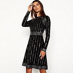 Long sleeves - Plus-size - Skater dresses - Women | Debenhams