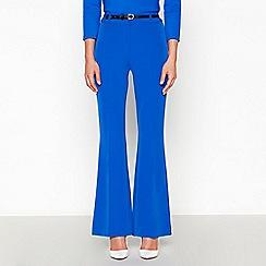 Star by Julien Macdonald - Bright Blue Belted Wide Leg Trousers
