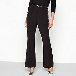 Star by Julien Macdonald - Black bootcut trouser