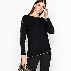 Star by Julien Macdonald - Black Studded Tunic