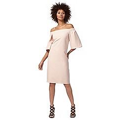 Star by Julien Macdonald - Pink bardot neck knee length shift dress