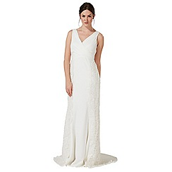 Debut - Ivory 'Rosie' lace embellished wedding dress