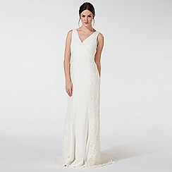 Debut - Ivory 'Rosie' lace embellished wedding dress