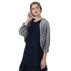 Debut - Silver 'Caprice' sequin cover-up