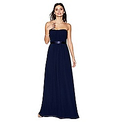 Debut - Navy 'Sophia' bandeau bridesmaid dress