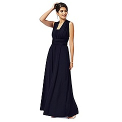 Debut - Navy blue multiway evening dress