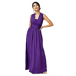 Debut - Purple multiway evening dress