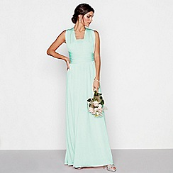 Debut - Light green multiway maxi dress