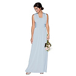Debut - Light blue multiway maxi dress
