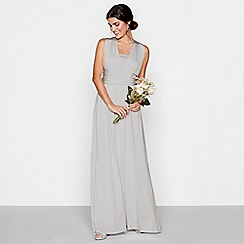 Debut - Silver multiway maxi dress