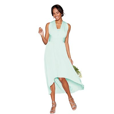 Debut   Light Green Multiway High Low Dress by Debut