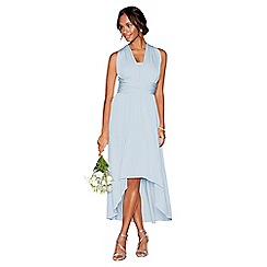 Debut - Light blue multiway high low dress