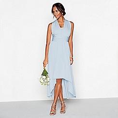 Debut - Light blue multiway high low dress