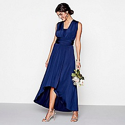 Debut - Navy multiway high low bridesmaid dress