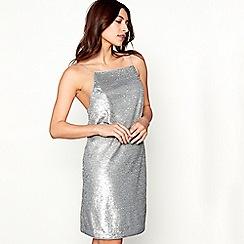 Debut - Silver sequin 'Sydney' sequin mini dress