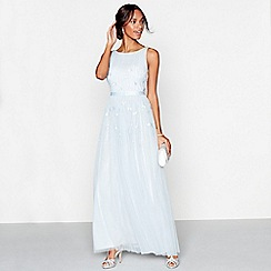 No. 1 Jenny Packham - Pale blue 'Giselle' full length dress