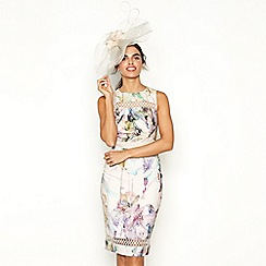 No. 1 Jenny Packham - Rose 'Pippa' print shift dress