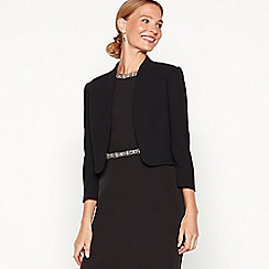 No. 1 Jenny Packham - Black 'Juliette' cropped jacket