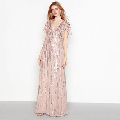 cc75a479e07 No. 1 Jenny Packham Pink sequin  Rita  maxi dress