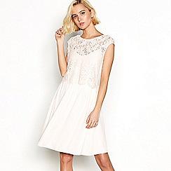 Vila - Pink lace 'Viulvica' dress