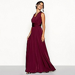 Debut - Dark purple multiway dress
