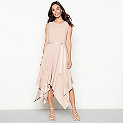 Debut - Rose 'Hayley' hanky hem dress