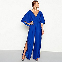 Debut - Bright blue 'Jess' jumpsuit