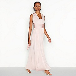 fdf5bef576a Debut - Rose pink multiway maxi dress