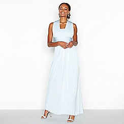 Debut - Blue multiway maxi dress