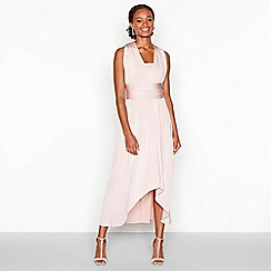 Debut - Rose pink multiway high low dress