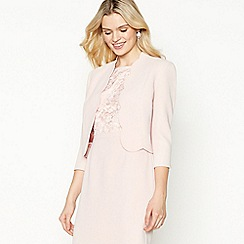 No. 1 Jenny Packham - Pale Pink Scallop Trim Jacket