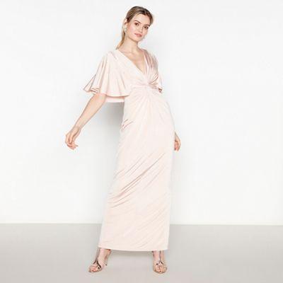 8c82a22fd5c No. 1 Jenny Packham Pale Pink Embellished Maxi Dress