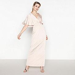 No. 1 Jenny Packham - Pale Pink Embellished Maxi Dress