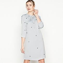 ec572adfc1c No. 1 Jenny Packham - Silver Embellished  Frances  Knee Length Dress