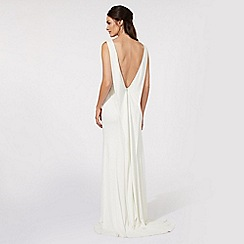 Ben De Lisi Occasion - Ivory jersey bridal dress