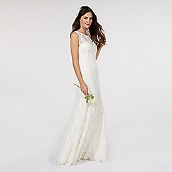 Debut - Ivory lace bridal dress