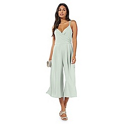 Debut - Pale green 'Caitlin' culotte jumpsuit
